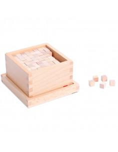Caja con cubos para la...